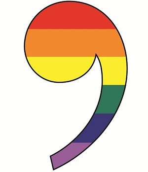 Rainbow Comma