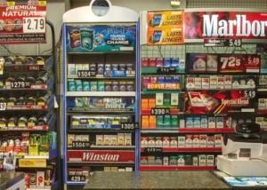 Convenience Store - Tobacco Wall